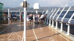Cunard - Queen Victoria - Shuffleboard