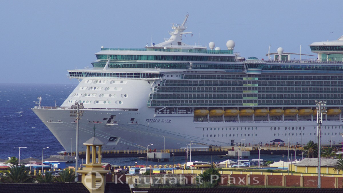 Royal Caribbean is planning its first test trip in June