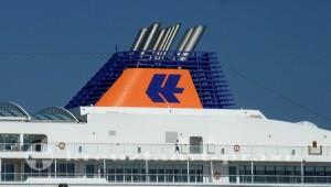 Treffen dreier Hapag-Lloyd-Kreuzfahrtschiffe in Lissabons Hafen