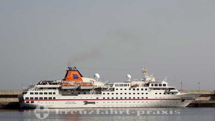 Hapag Lloyd Cruises - die ehemalige Hanseatic