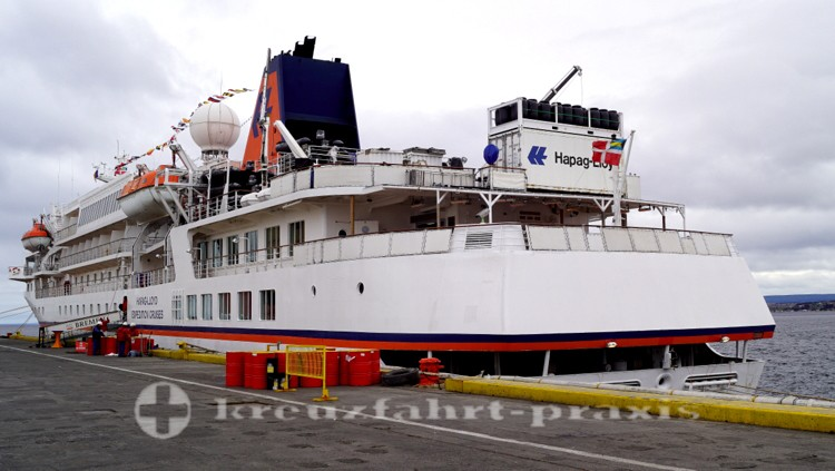 MS BREMEN - In Punta Arenas/Chile