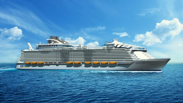 Royal Caribbean -Harmony of the Seas - Entwurfszeichnung