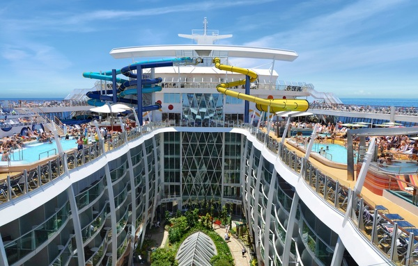 Royal Caribbean -Harmony of the Seas - Entwurfszeichnung Central Park