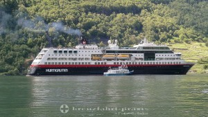 Hurtigruten fährt von 2021 an regelmäßig ab Hamburg