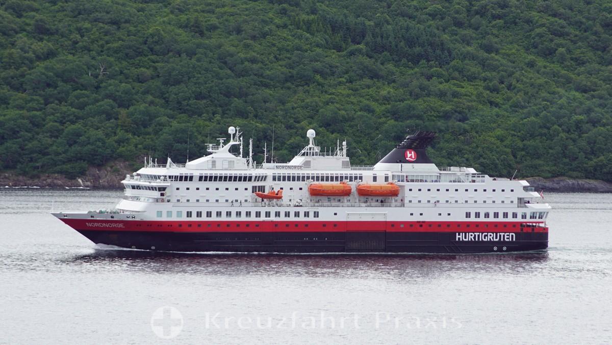 Hurtigruten-Postschiff Nordnorge