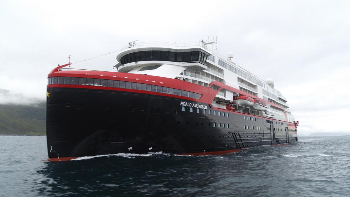 Hybridschiff MS Roald Amundsen