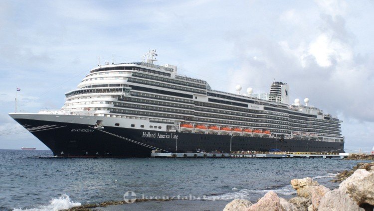 MS Koningsdam in Willemstad/Curacao