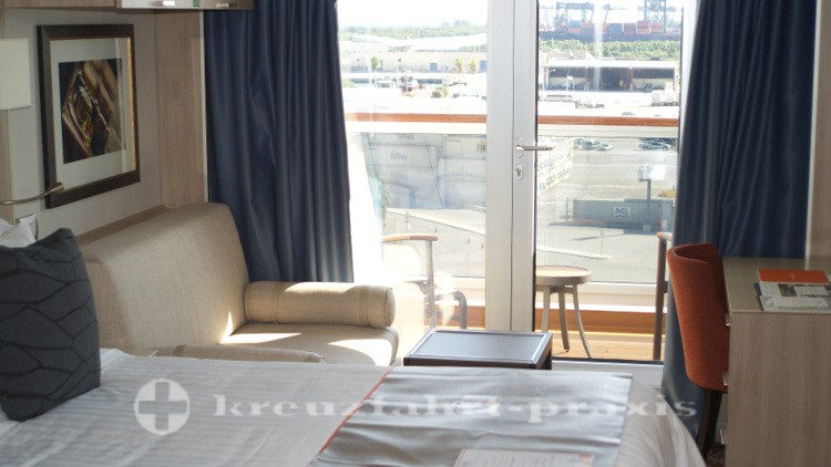MS Koningsdam - Standard Balkonkabine #8027