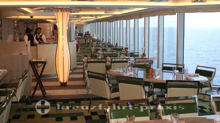 MS Koningsdam - Lido Market Restaurant - Bester Meeresblick