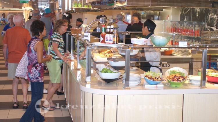 MS Koningsdam - Lido Market Restaurant - Frischestation