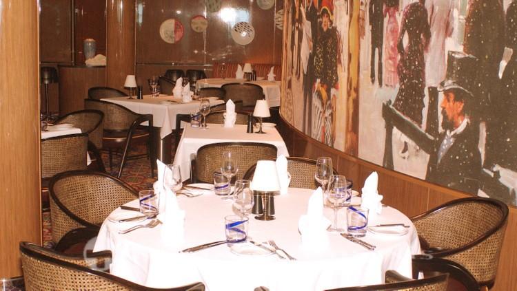 Holland America Line - MS Koningsdam - Rudi's Sel de Mer Restaurant
