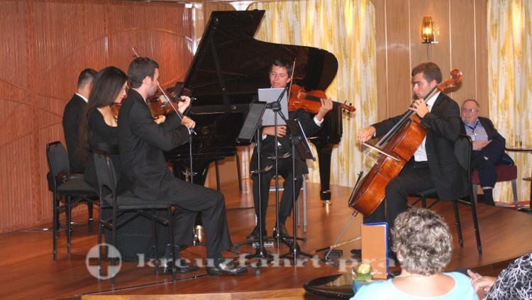 MS Koningsdam - Music Walk - Das Kammermusikensemble