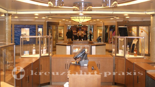 Legend of the Seas - One of the on-board shops