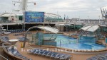 Legend of the Seas - outdoor pool and movie screen