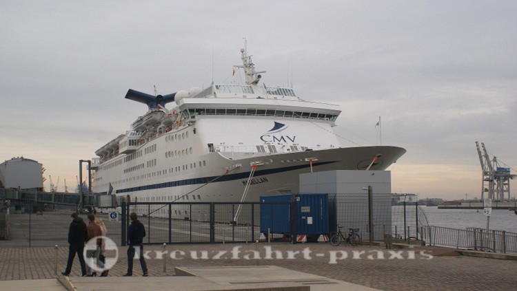MS MAGELLAN in Hamburg-Altona