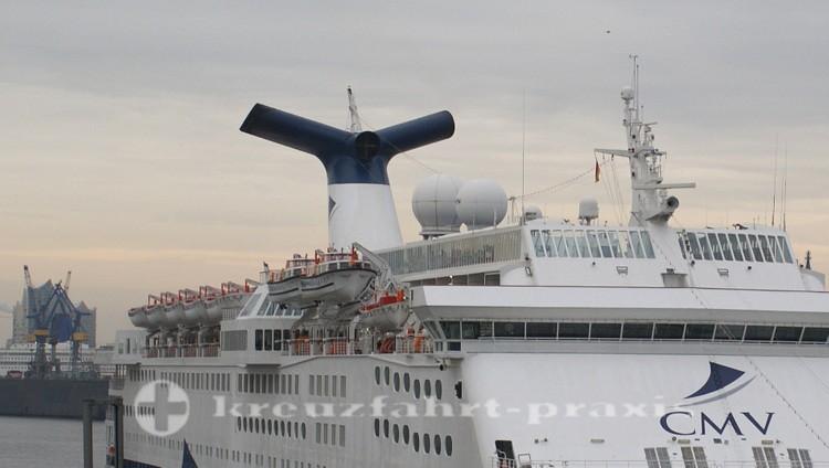 Magellan - Offene Rettungsboote