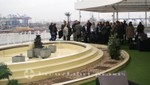 Magellan - Sun Deck mit dem Zen Garten