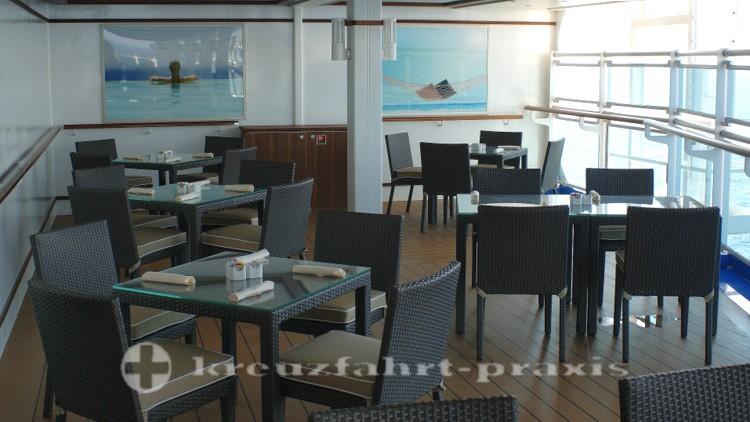 Außenbereich Büffet Restaurant