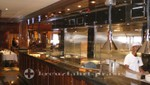 The Crown Grill's open plan kitchen