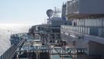 Port deck area