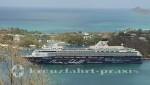Mein Schiff 1 vor St. Lucia/Karibik