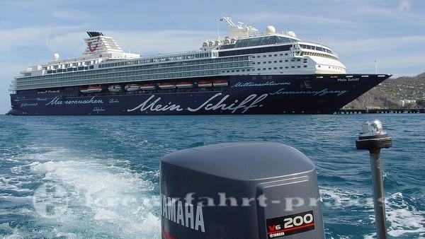 Mein Schiff 1 vor Grenada