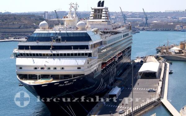 Mein Schiff 1 in Valletta/Malta