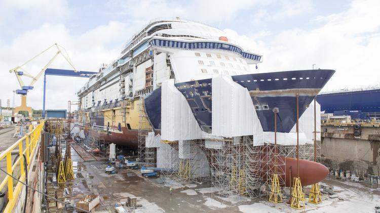 Mein Schiff 1 neu - aktueller Baustatus