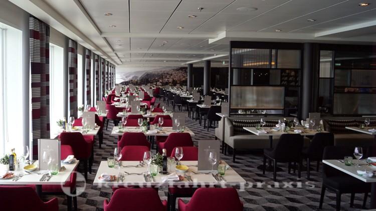 Mein Schiff 1 neu - Restaurant Atlantik Mediterran