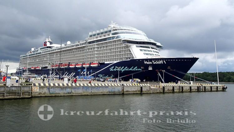 Neue Mein Schiff 1 in Gdingen