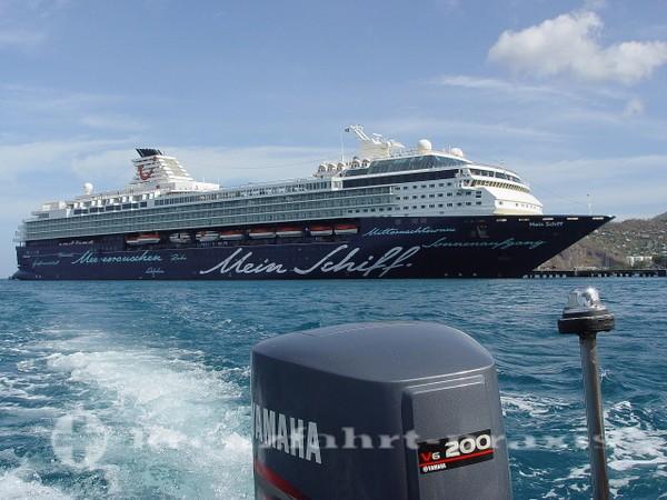 Mein Schiff 1 - Vor St. Georges/Grenada