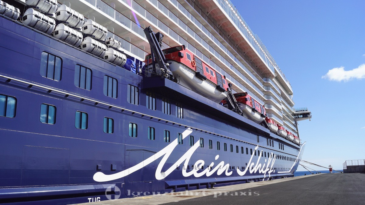 Mein Schiff 2 - From Palma to the Canaries