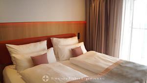 Separater Schlafraum der Panorama Suite