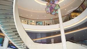 Mein Schiff 2 - Treppenhaus