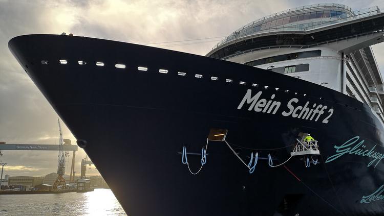 Mein Schiff 2 NEU - Der Name