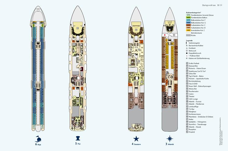 deckplan mein schiff 3 decks 3 bis 6 750
