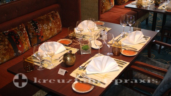Mein Schiff 3 - Atlantik Restaurant - Eurasia - Tischdekoration