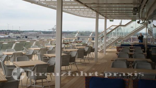 Mein Schiff 3 - Buffet-Restaurant Anckelmannsplatz - Außenbereich