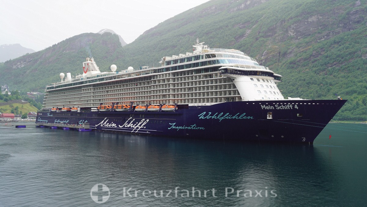 My ship 4 in the Geirangerfjord