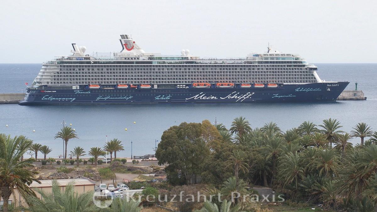 Mein Schiff 4 - San Sebastián de la Gomera