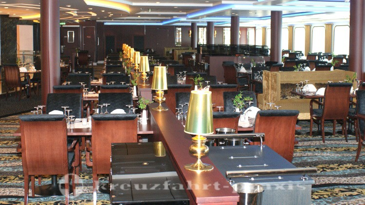 Mein Schiff 4 - Atlantik Brasserie Restaurant