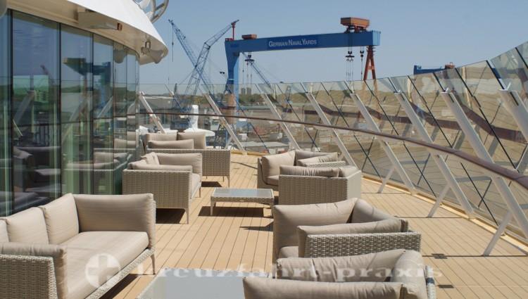 Mein Schiff 4 - X-Lounge - Außenbereich