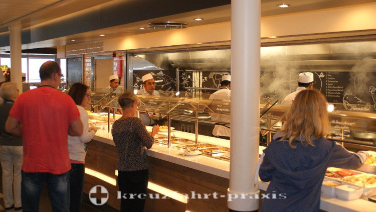 Mein Schiff 4 - Buffet-Restaurant Anckelmannsplatz