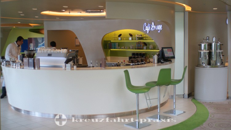 Mein Schiff 4 - Café Lounge
