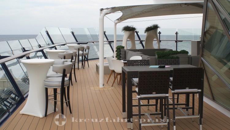Mein Schiff 4 - Champagner Treff - Außenbereich