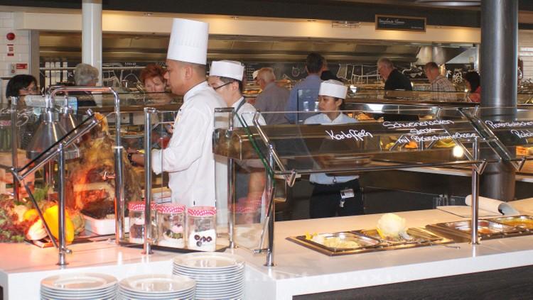 Mein Schiff 5 - Buffetrestaurant Anckelmannsplatz
