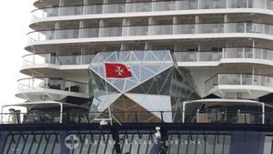 Mein Schiff 5 fährt unter Maltas Flagge