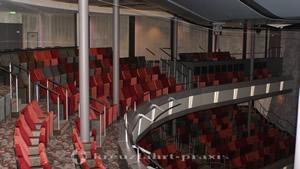 Das 1.000 Plätze bietende Theater