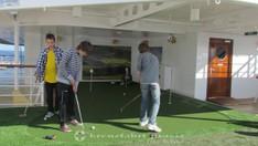 Golfabschläge
