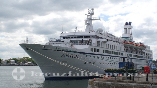 MS ASTOR in Cobh/Irland